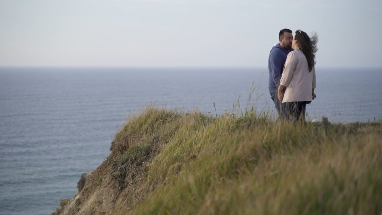 preboda video de boda junto al mar